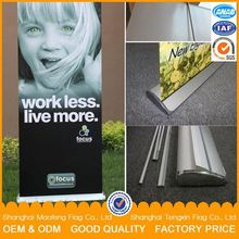 free set up artwork high quality custom pull up banner stand