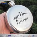 Mini 100 ml termo de acero inoxidable frasco de vacío con logo en relieve