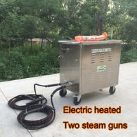 no boiler design two steam guns 15 bar hot steam pressure washer