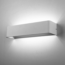 CE UL crystal painting wall lights & stainless steel wall lighting & square up down wall light