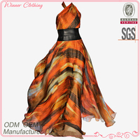 women clothing manufacturer elegant /gracful evening /prom maxi dress