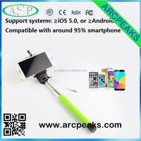 monopod selfie stick 2015 cable take pole selfie stick for baby gift