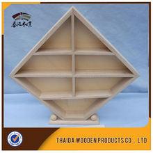 New Product New Rustic Small Wooden Tray With Compartment
