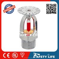 high pressure pendent fire sprinkler