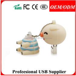 Custom lovely bag shape USB Flash Drive pvc golf bag usb ,Free sample
