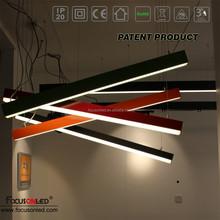 Factory Best Sale Led Light Fixture Drop Ceiling Batten Led linear light recessed lamp rings