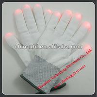 LED Multi-Color Light Finger Show Rave Gloves