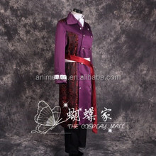 High Quality Hakuouki Shinsengumi Kitan Kazama Chikage Anime cosplay Costume Men's Dress uniforms Halloween Costume