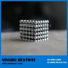 china mmm 100 mmm cheap nano permanent cube ndfeb magnet balls