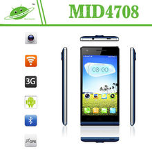 New product 4.7 inch MTK6582M quad core 1280X720 IPS screen 1G RAM 4G rom phone mobile