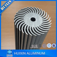 hot sale ISO certificate 6000 series aluminum hollow heat sink