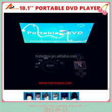 stock 10inch screen 270 degreen portable vcd dvd evd player home used portable evd player
