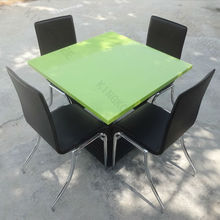 High quality Chairs and Tables Dining Furniture ,Colored commercial Round restaurant buffet Tables
