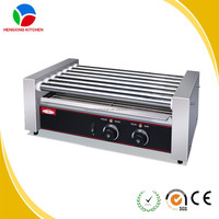 Commercial Hot Dog Roller Grill/Hot Dog Roller And Bun Warmer/Hot Dog Roller Machine