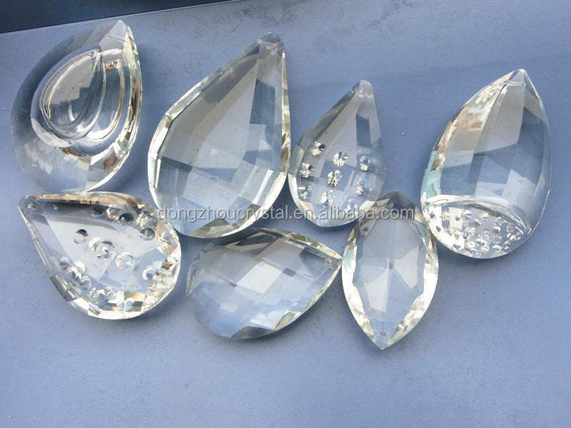 90mm großformat kristall kronleuchter teile, kristall anhänger ...