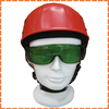 red high quility and good safety helmet, engineering safety helmet specifications