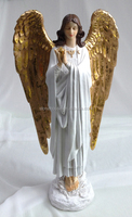 resin angel statue