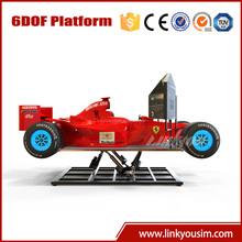 Electric karting hyper racing karts simulator, amusement riders f1 go karts for sale