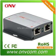 Power over Ethernet extender IEEE802.3af compatibled 100 meter transmission