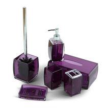 6Pcs Pink Plastic Bathroom Decor accessories for home