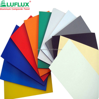 External Wall Cladding panel/ACP sheet/pvdf 4mm aluminum composite panel