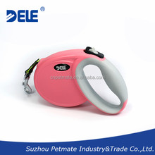 2015 new design pet products retractable dog leash with CE certificate