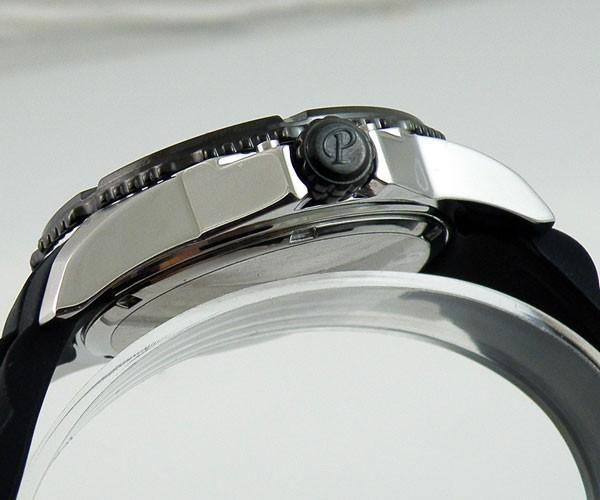 Бесплатная доставка 45 мм Parnis кварцевый механизм белый циферблат спортивные 10ATM водонепроницаемые мужчины часы PQ4507PW