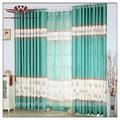 De estilo italiano cortinas, verde esmeralda de cortinas, cisne de la cortina