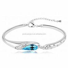 Chic Journey Diamond Bangle,Baguette Diamond Bangle Bracelet,Crystal Buy Diamond Bracelet