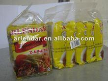 Halal espinacas fideos