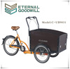 Hot sale three wheels Denmark maimly production cargo bike/cargo tricycle/cargobike UB9031