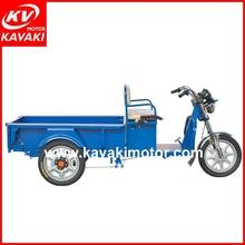 KAVAKI mini electric powered motorcycle 48v electric three wheel bike / trike chopper three wheel motorcycle for transportation