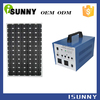 Environmentally friendly home portable solar generator