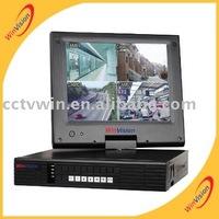 "H.264 LCD DVR, 4CH 10.5""LCD Monitor DVR"