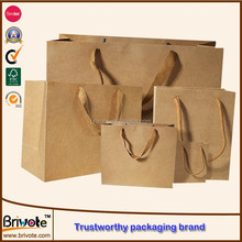 Kraft paper packing bag/Shopping bag/Kraft paper shopping bag