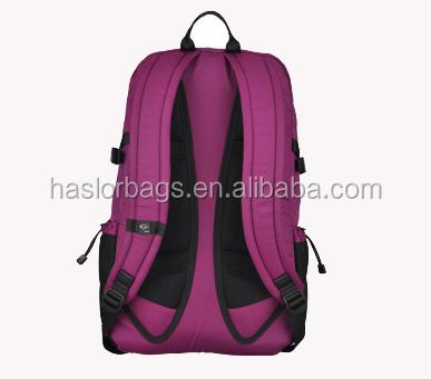 Nouvelle conception de marque 2015 sac d'école avec un matériau imperméable