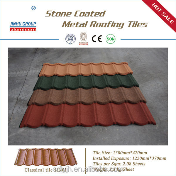 New building materials stone coated metal roofing tile for New roofing products