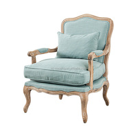 leisure soft comfortable chair wooden chair old style for living room chair