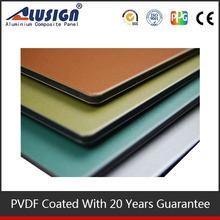 Interior Decorative Pvdf Kitchen Wall Panels exterior plastic sandwich pvdf coating