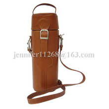 Leather Single Deluxe Wine Carrier And Wine Carrier Bags