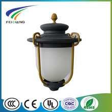 aluminum light pole garden lighting pole powder coating round street light led light garden spot lights garden light pole