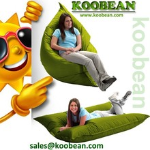 low price massive giant square bean bag with size 140x180