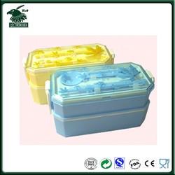 kids maple leaf plastic lunch box kids food container