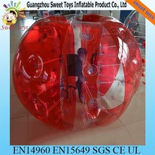 2015 bumper ball giant human body soccer inflatable bubble ball suit for football for sale