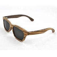 raw material natural wood sunglasses wooden sport sunglasses