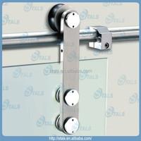 Stainless steel bathroom caster wheel for sliding door