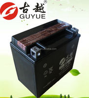 12V 12Ah Rechargeable maintenance free Storage Battery for Motorcycle YTX14-BS