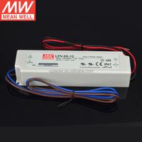 Taiwan MEANWELL 12V 60W LED transformer LPV-60-12