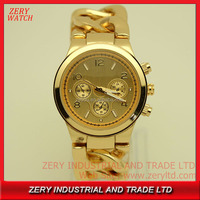 R0496 good quality king quartz chronograph watch,alloy case king quartz chronograph watch