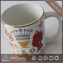 Sublimation Gold Rim Mugs